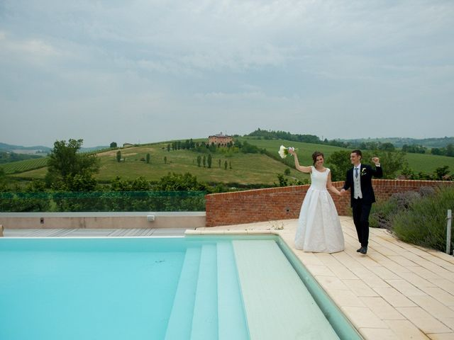 Il matrimonio di Nicola e Simona a Rosignano Monferrato, Alessandria 28
