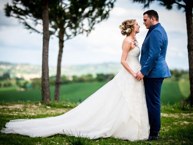 Le nozze di Elodie e Alessandro