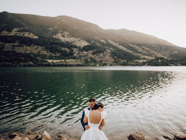 Il matrimonio di Roberto e Mariasole a Scanno, L'Aquila 51
