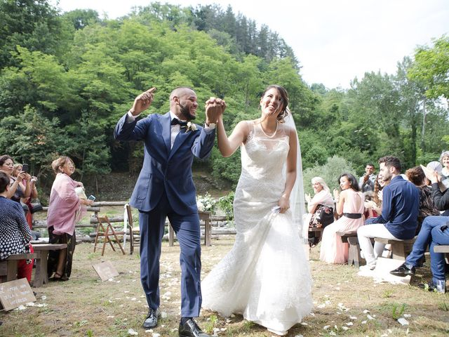 Il matrimonio di Josivaldo e Alessandra a Piteglio, Pistoia 32