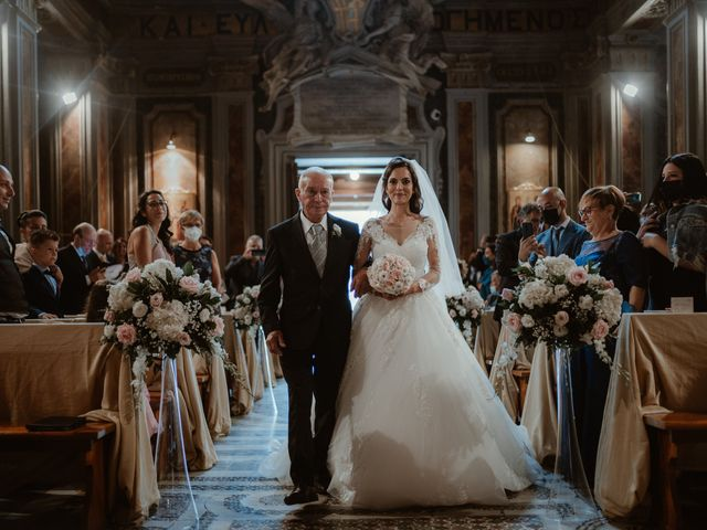 Il matrimonio di Salvatore e Sara a Grottaferrata, Roma 17