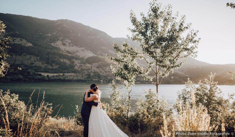 Il matrimonio di Roberto e Mariasole a Scanno, L'Aquila