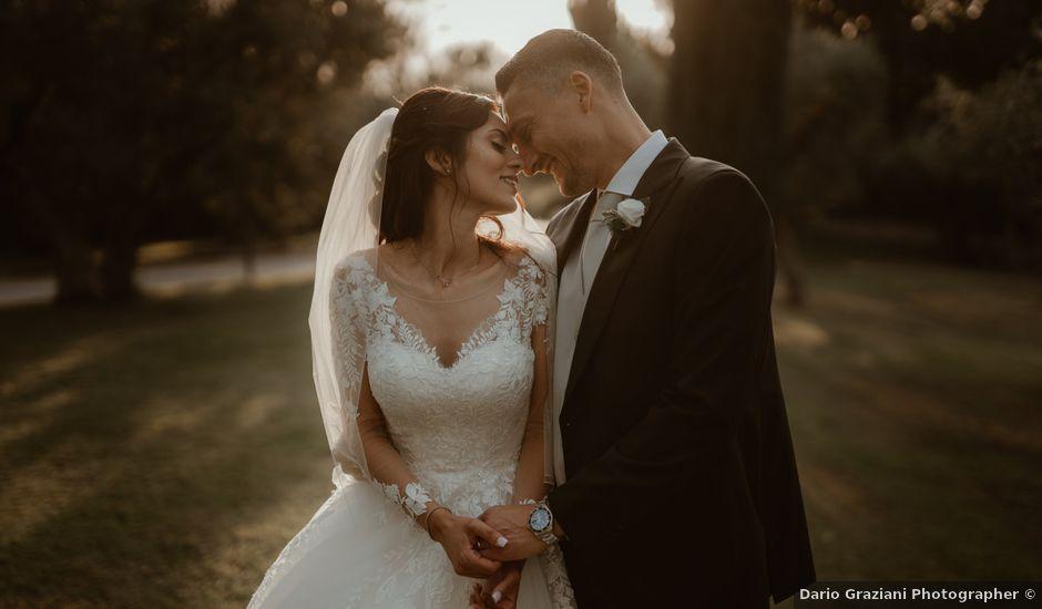 Il matrimonio di Salvatore e Sara a Grottaferrata, Roma