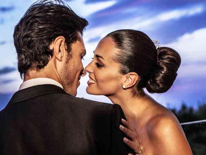 le nozze di Claudia e Luciano