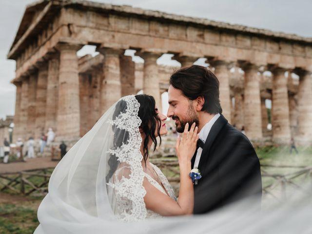 Il matrimonio di Eleni e Emiliano a Capaccio Paestum, Salerno 19