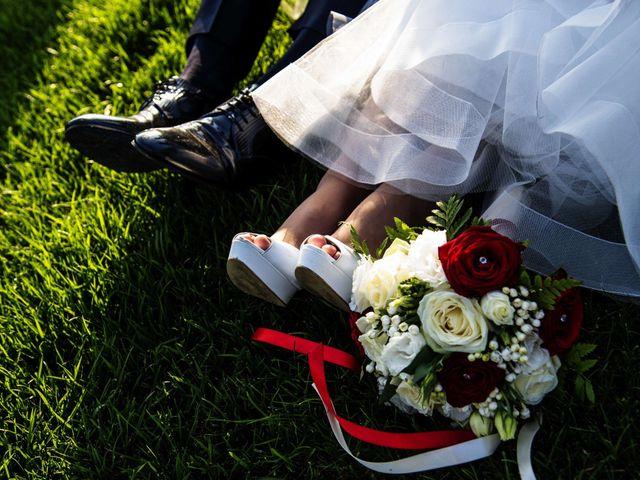 Il matrimonio di Stefano e Annalisa a Verdello, Bergamo 123