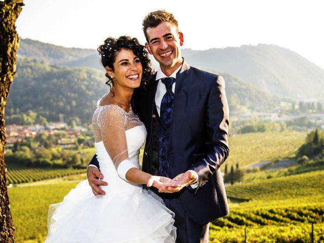 Il matrimonio di Stefano e Annalisa a Verdello, Bergamo 125