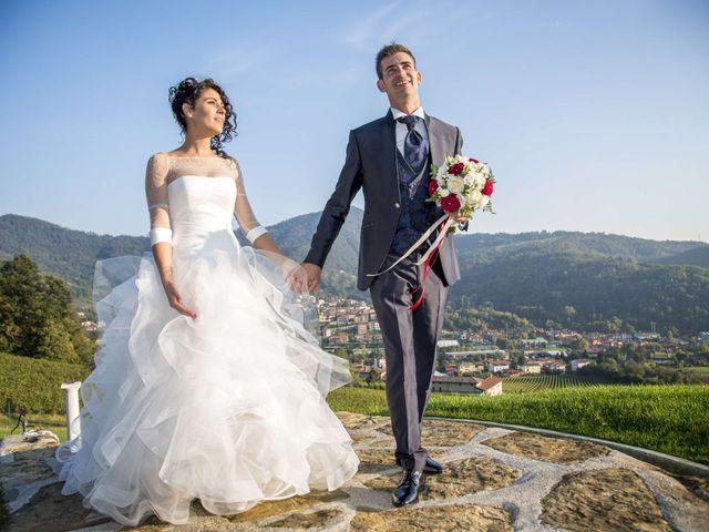 Il matrimonio di Stefano e Annalisa a Verdello, Bergamo 132