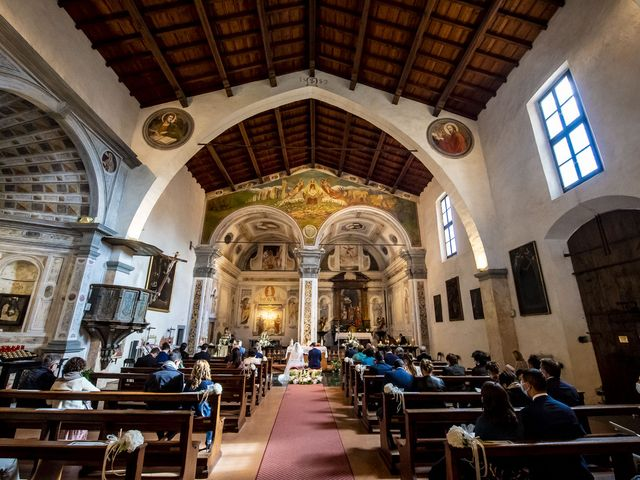 Il matrimonio di Moreno e Lucilla a Palazzago, Bergamo 21