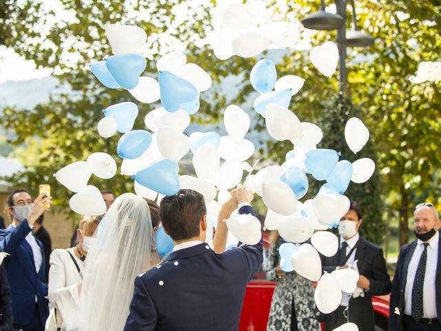 Il matrimonio di Moreno e Lucilla a Palazzago, Bergamo 33