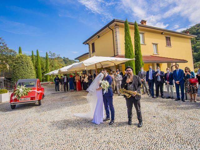 Il matrimonio di Moreno e Lucilla a Palazzago, Bergamo 35