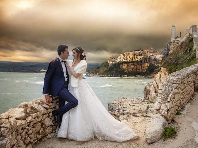 Il matrimonio di Michela e Domenico a Vico del Gargano, Foggia 14