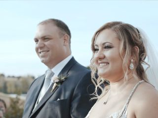 Le nozze di Nikki e Chris