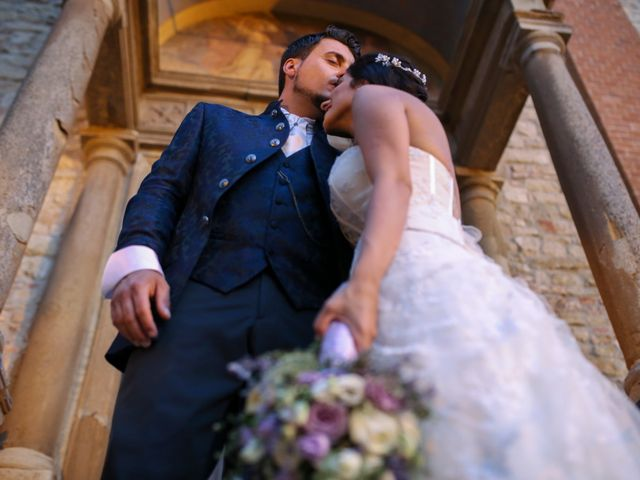 Il matrimonio di Daniele e Sabina a Fortunago, Pavia 15