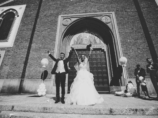 Il matrimonio di Simone e Denise a Varedo, Monza e Brianza 34