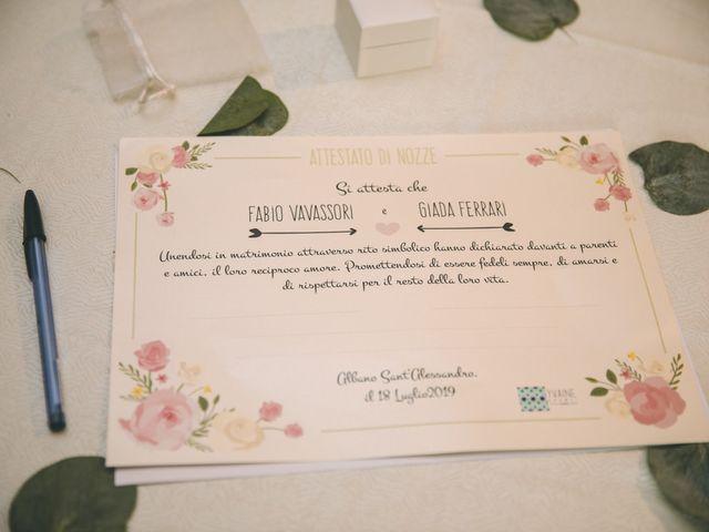 Il matrimonio di Fabio e Giada a Albano Sant'Alessandro, Bergamo 58