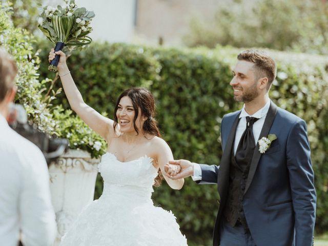 Il matrimonio di Massimo e Anna a Collebeato, Brescia 41