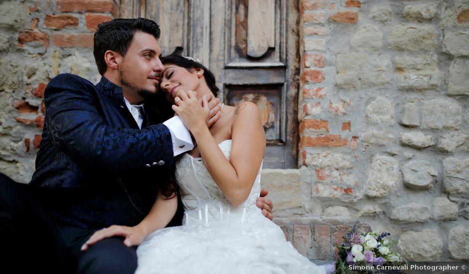 Il matrimonio di Daniele e Sabina a Fortunago, Pavia