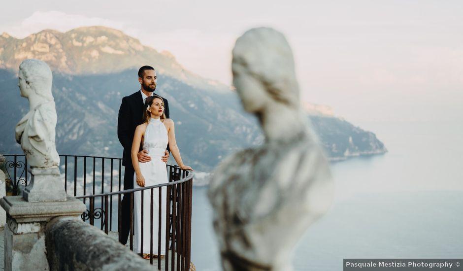 Il matrimonio di Robert e Penelope a Ravello, Salerno