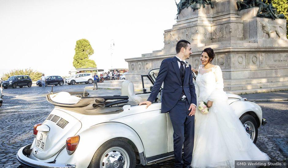 Il matrimonio di Marco e Marianna a Roma, Roma