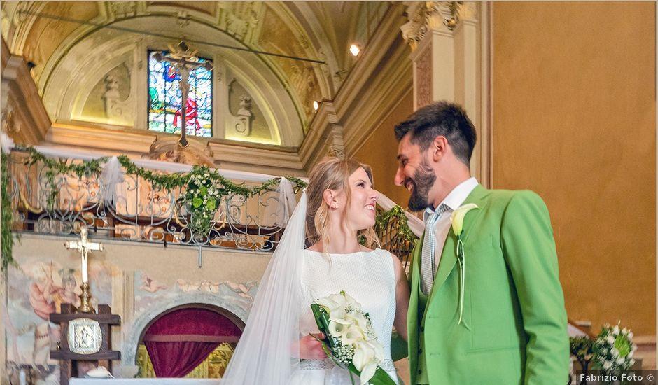 Il matrimonio di Riccardo e Elena a Calolziocorte, Lecco