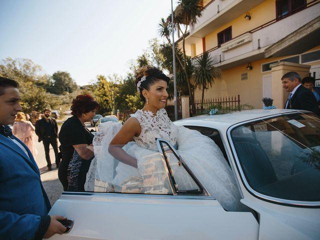 Il matrimonio di Francesco e Pamela a Campli, Teramo 10