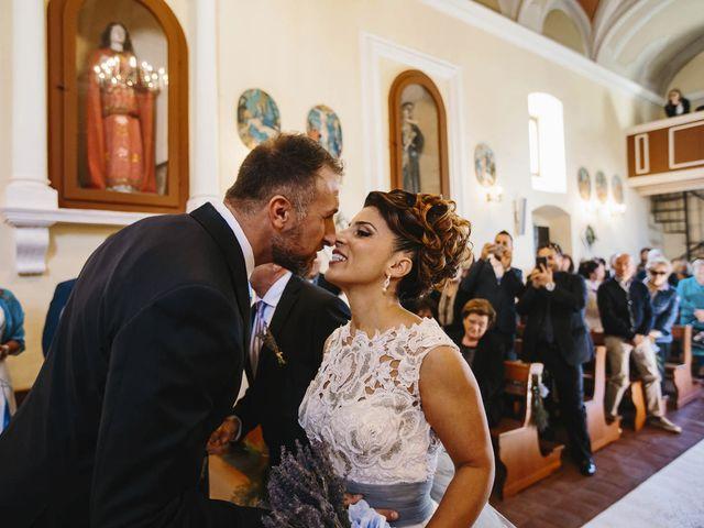 Il matrimonio di Francesco e Pamela a Campli, Teramo 13