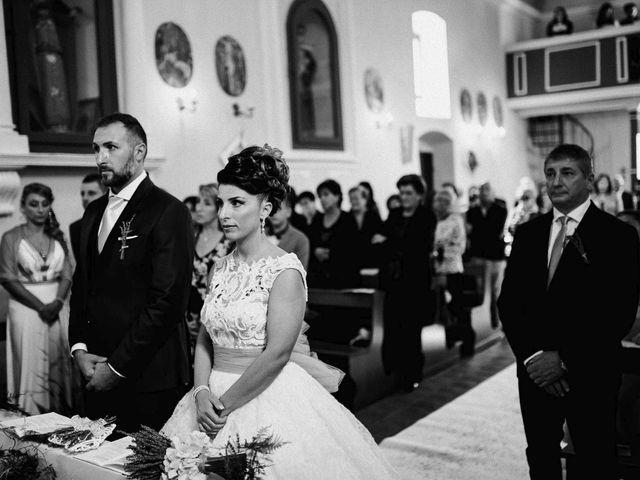 Il matrimonio di Francesco e Pamela a Campli, Teramo 16