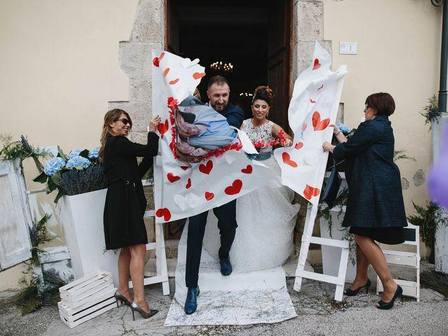 Il matrimonio di Francesco e Pamela a Campli, Teramo 18
