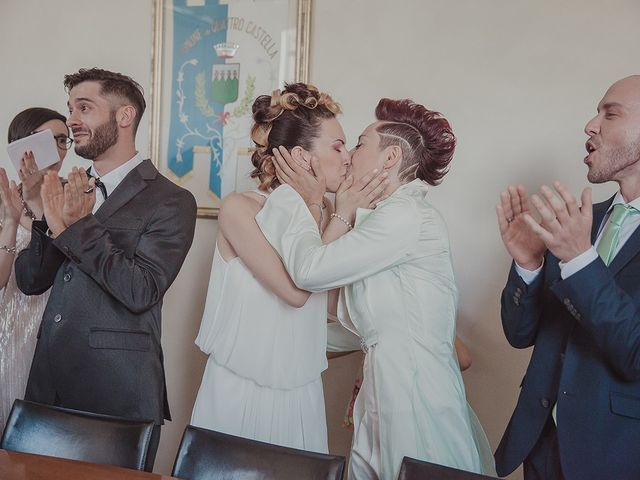 Il matrimonio di Silvia e Erica a Reggio nell'Emilia, Reggio Emilia 78