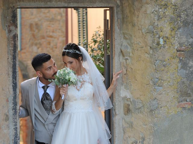 Il matrimonio di Mattia e Marta a Campiglia Marittima, Livorno 28