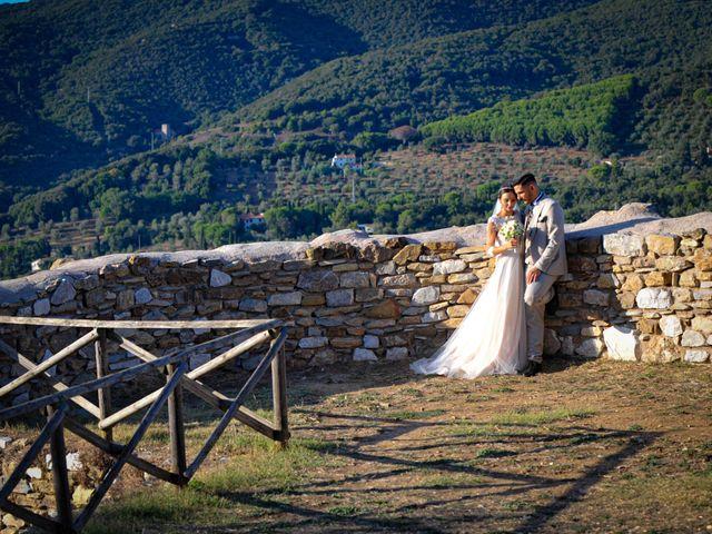 Il matrimonio di Mattia e Marta a Campiglia Marittima, Livorno 31