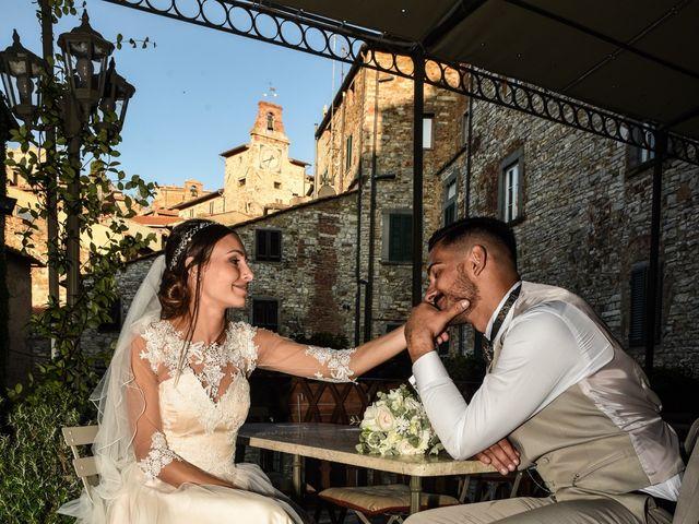 Il matrimonio di Mattia e Marta a Campiglia Marittima, Livorno 34