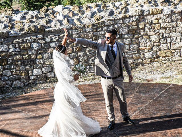 Il matrimonio di Mattia e Marta a Campiglia Marittima, Livorno 46
