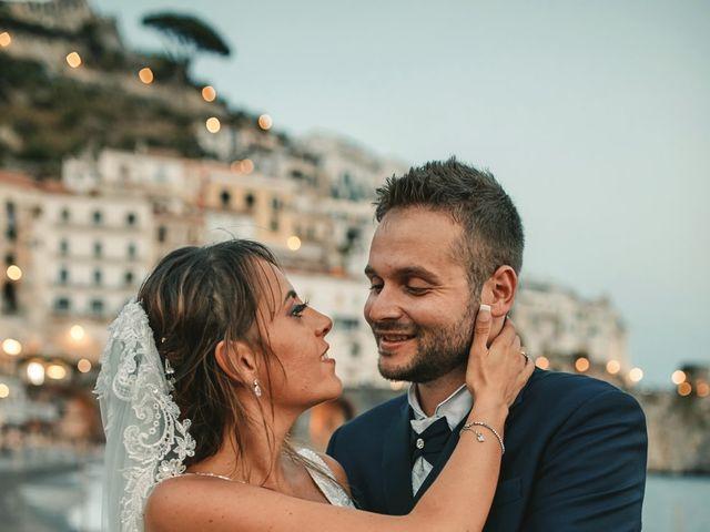 Il matrimonio di Caterina e Damiano a Amalfi, Salerno 30
