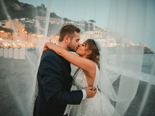 Il matrimonio di Caterina e Damiano a Amalfi, Salerno 31