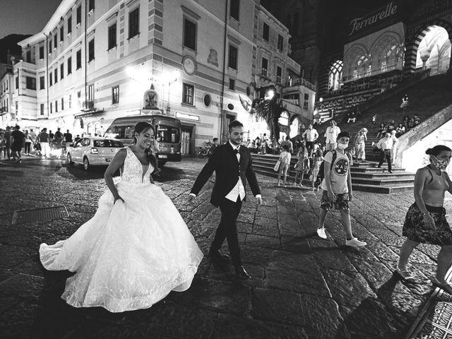 Il matrimonio di Caterina e Damiano a Amalfi, Salerno 36