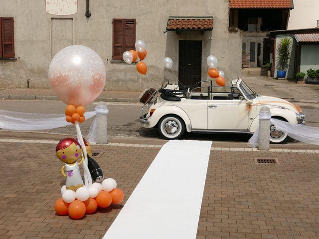 Il matrimonio di Vincenzo  e Jessica  a Magenta, Milano 1