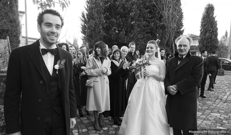 Il matrimonio di Jacopo e Costanza a Poggio Berni, Rimini