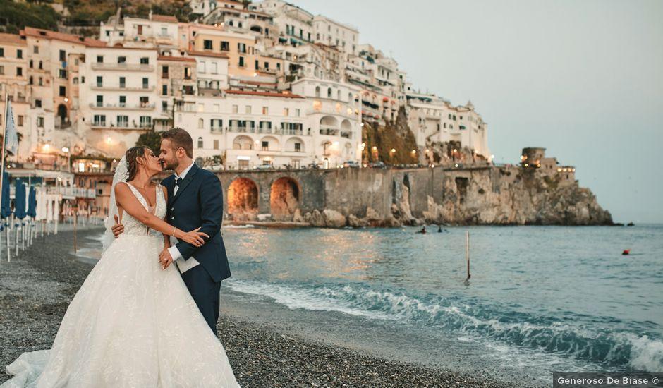 Il matrimonio di Caterina e Damiano a Amalfi, Salerno