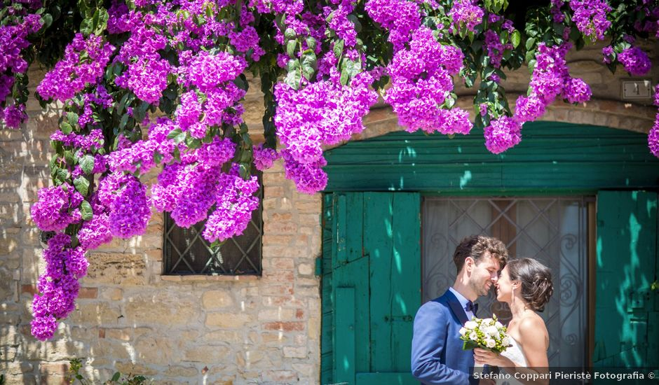 Il matrimonio di Ervis e Ambra a Falerone, Fermo