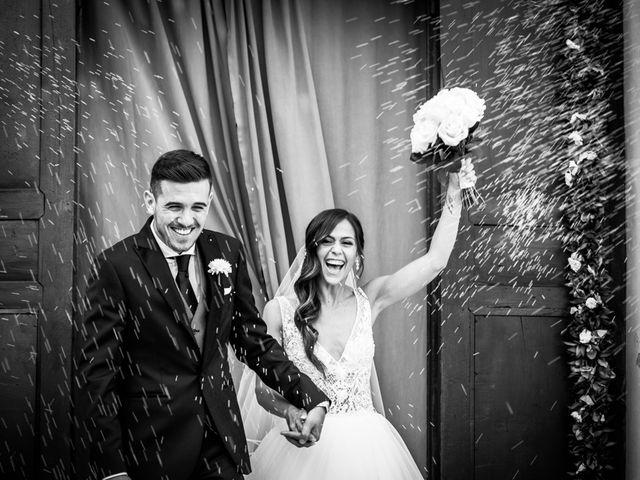 le nozze di Giorgia e Mattia