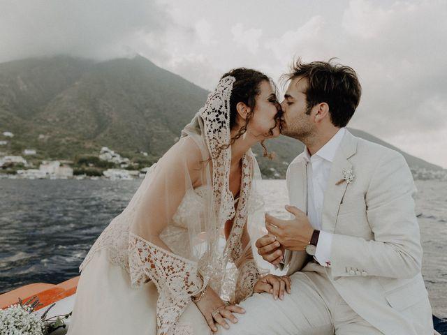 Il matrimonio di Gianmarco e Giorgia a Santa Marina Salina, Messina 99