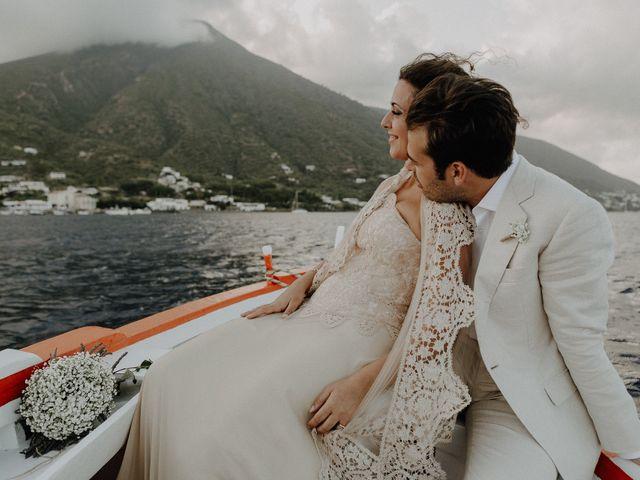 Il matrimonio di Gianmarco e Giorgia a Santa Marina Salina, Messina 102