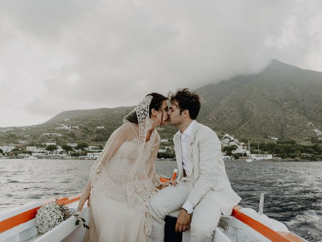 Il matrimonio di Gianmarco e Giorgia a Santa Marina Salina, Messina 106