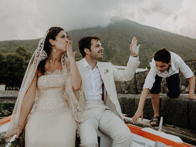 Il matrimonio di Gianmarco e Giorgia a Santa Marina Salina, Messina 108