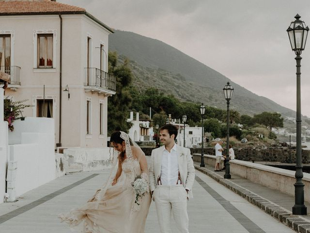 Il matrimonio di Gianmarco e Giorgia a Santa Marina Salina, Messina 112
