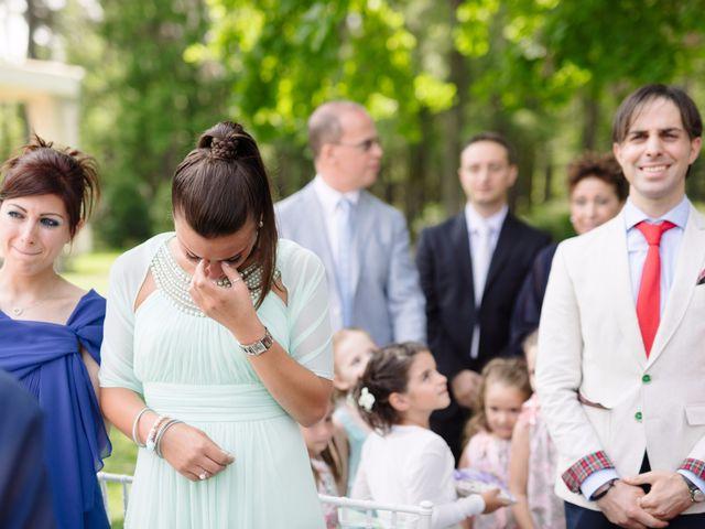 Il matrimonio di Andrea e Maria Cristina a Golasecca, Varese 23