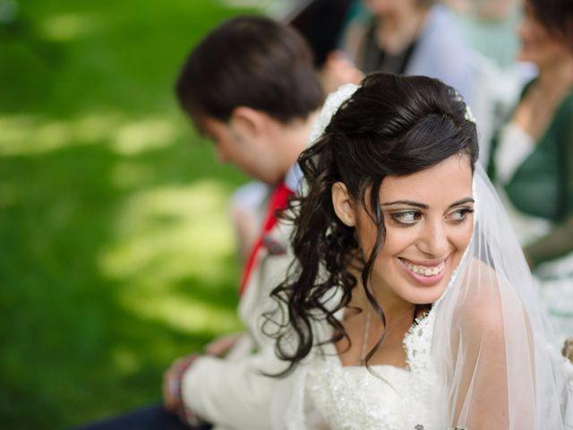 Il matrimonio di Andrea e Maria Cristina a Golasecca, Varese 26