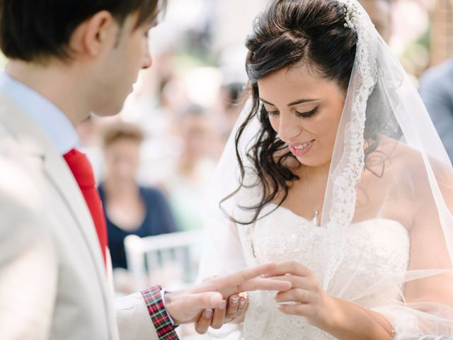 Il matrimonio di Andrea e Maria Cristina a Golasecca, Varese 31
